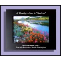 8x10 Black on Silver Photo Frame