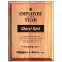 5x7 Alder Wood Recognition Plaque