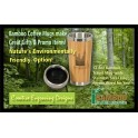 Bamboo Coffee Mug 12.8oz