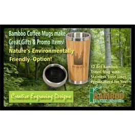 Bamboo Coffee Mug 12.8oz
