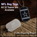NFL Team Dog Tag