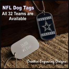NFL Team Dog Tag