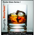 8oz Bourbon Rocks & Tasting Glass