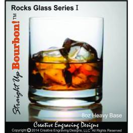 8oz Bourbon Rocks & Tasting Glass
