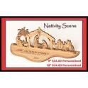 """18"""" Nativity Scene"""