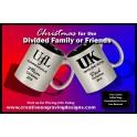 11oz Silver Coffee Mug Round - 2 Sides Personalized