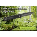 Knife - Black Anodized Aluminum Handle