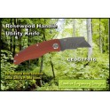 Knife - Rosewood Handle Utility Knife
