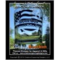 8oz America's Native Spirit - Bourbon Rocks Glass