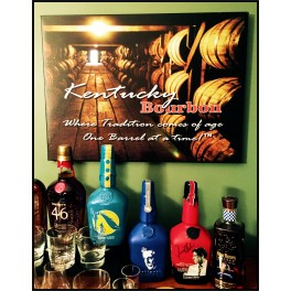 Bourbon Canvas Print - Tradition Comes of Age