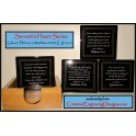 Servant's Heart Series  4 Coasters and Holder Set